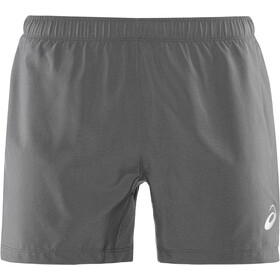 asics Silver Hardloop Shorts Heren, dark grey